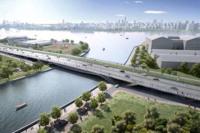 上海淀浦河桥工程桥梁开始吊装 预计11月完成吊装工作