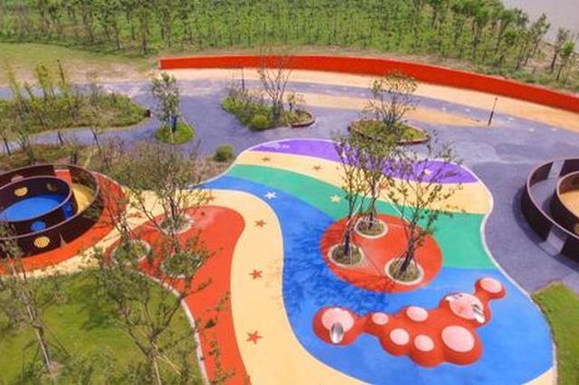 临港口袋公园旧貌换新颜 绿化面积达1.30公顷