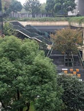 虹桥商务区低碳名片再添新景观