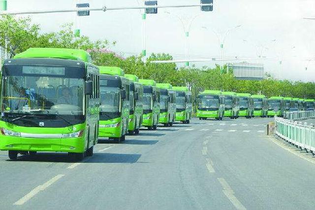 崇明新能源公交车已超五成 目前投入使用100多辆