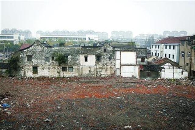 浦东高行曹家宅暂时不拆除 对研究上海历史有重大意义