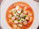 茄汁龙利鱼豆腐煲