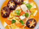 番茄菌菇豆腐汤