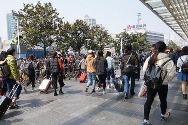 铁路上海站将启动春游运输 最高峰出现在清明小长假