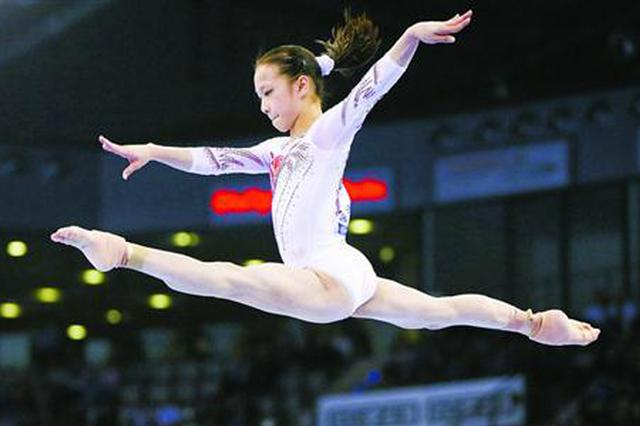 18岁上海小囡章瑾喜夺世界冠军 成又一位体操全能王