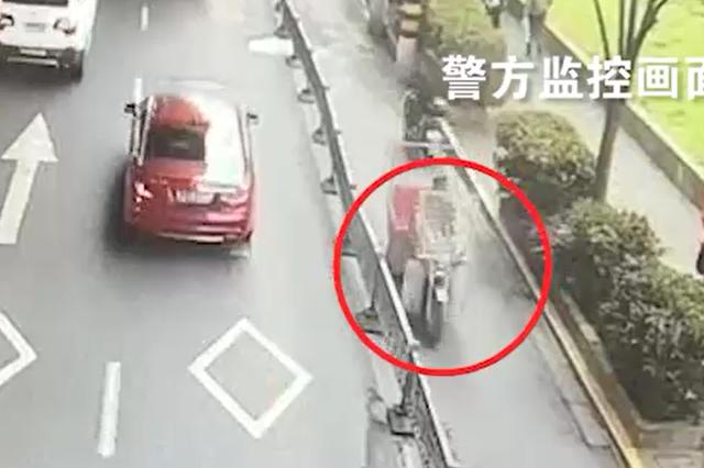 男子驾改装轮椅车撞倒孕妇后逃逸 警方历时5天抓获