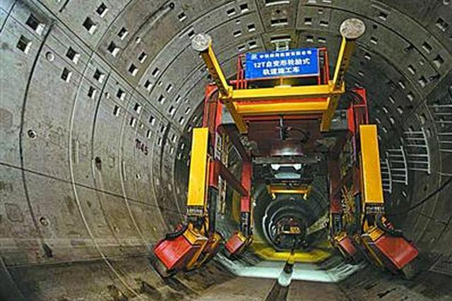 轨交13号线二三期预计5月底前全线轨道贯通 年底通车