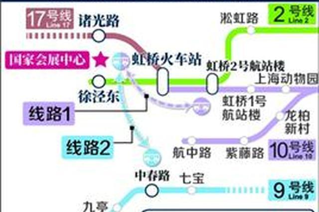 国家会展中心医药展开幕 沪轨交三线三站迎大客流考验