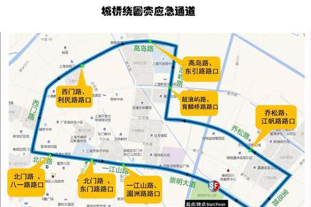 崇明女子自行车赛周四开幕 交通管制信息发布