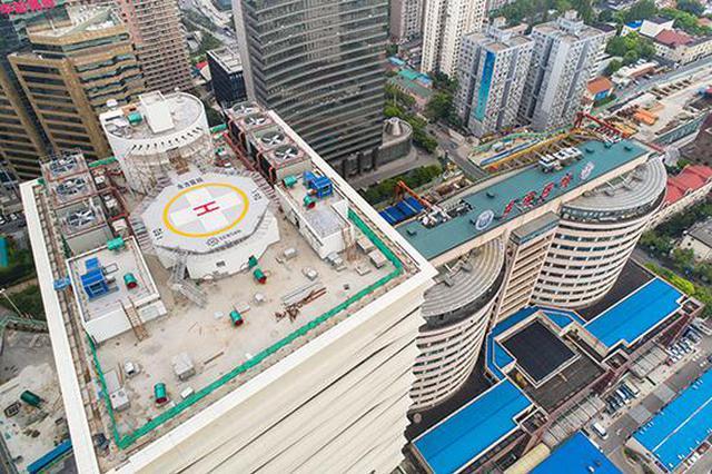上海医院又添空中停机坪 患者可从屋顶直达手术室