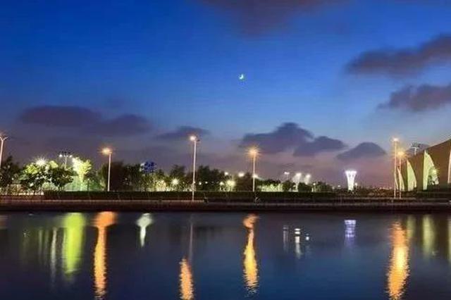 东方体育中心附近建景观绿化及中心广场 紧邻BRT车站