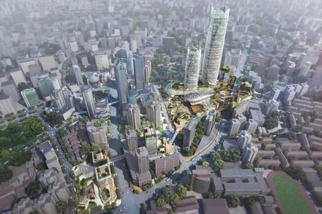 徐家汇核心项目取得突破性进展 未来将成为世界级商圈