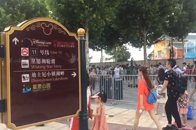 上海迪士尼乐园进暑假客流高峰 将推出夏日下午场票