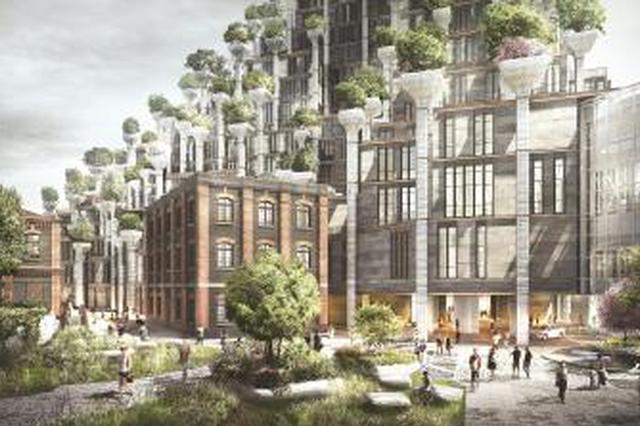 普陀建设苏河十八湾魅力提升工程 面粉厂将迎新生