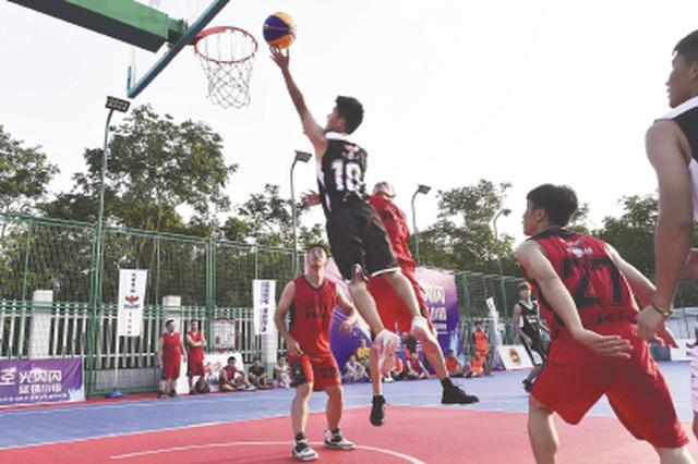 罗泾再迎新名片:上海首个篮球小镇落户