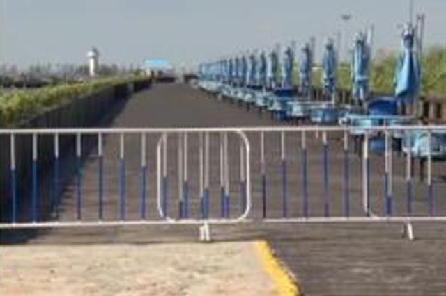 金山城市沙滩9月1日起恢复开放 进入非泳期模式
