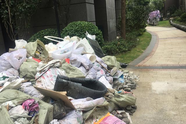 上海一高档小区存安全隐患 业主称每月物业费三千多