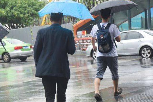 申城周五持续阴雨气温回落 下周最低气温或降至20度