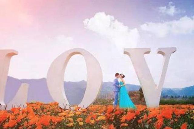 上海浪漫已形成产业 22对长三角新人品尝爱情甜蜜