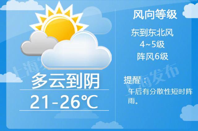 沪上冷空气扩散 台风潭美或将影响申城