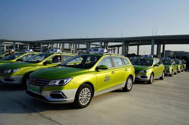上海成立进博会专属车队 350辆新能源出租车亮相