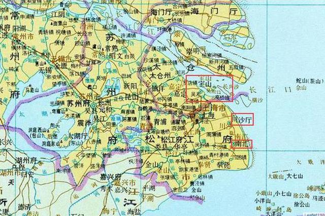 浦东行政区划百年巨变:见证上海发展空间不断扩大