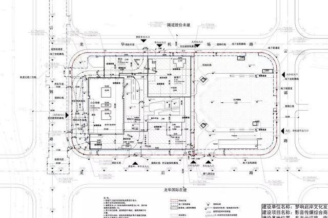 徐汇区将开建影音传媒综合商办新建项目 方案公示