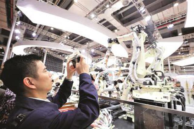 上海工匠走进进博会:要利用智能技术助推整体产业升级