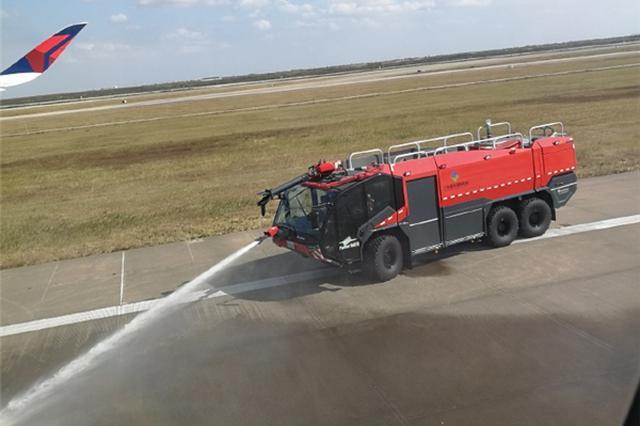 浦东机场达美航空一航班中断起飞 乘客:机头快拉起来