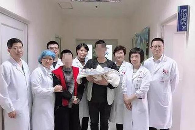 25岁孕妇一度脑动脉破裂 经手术、抗癫痫等治疗产女婴