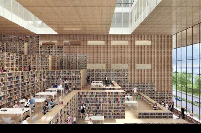 上海最美临湖图书馆开工建设 未来城市雏形呼之欲出