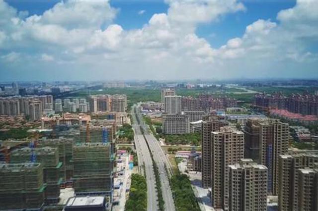 奉贤新城最新建设进展:金海公路已完成总工程量70%