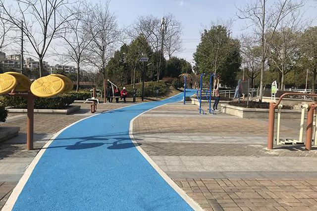 上海建成首条环社区核心区域绿道 辐射万余户居民