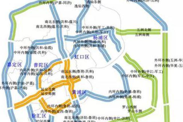 沪上多个道路工程施工中 较拥堵越江隧道、大桥一览