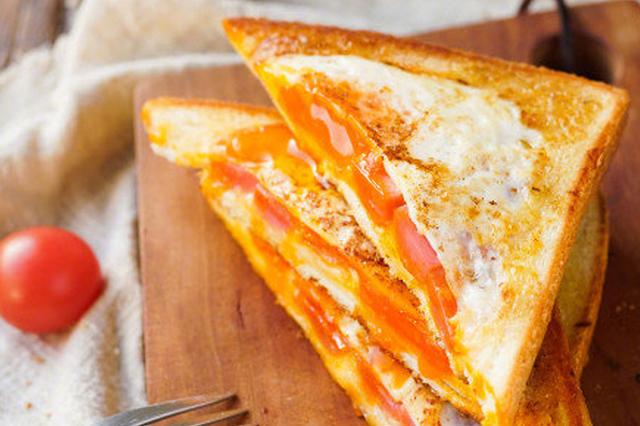 美味早餐新选择 超简便面包三明治