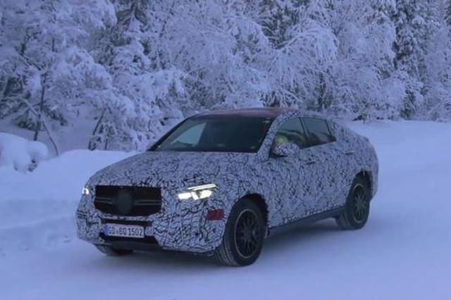 新款GLE轿跑版谍照曝光 在瑞典开始路试