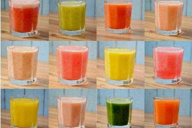 果汁不要瞎榨,这样搭配营养又健康