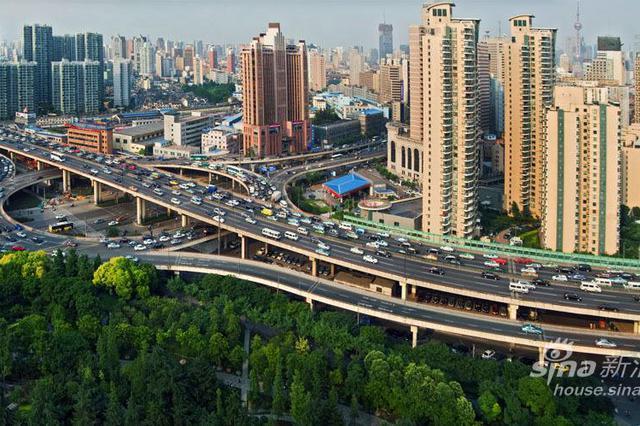 天目路立交将迎史上最大改造 联通北横通道与南北高架