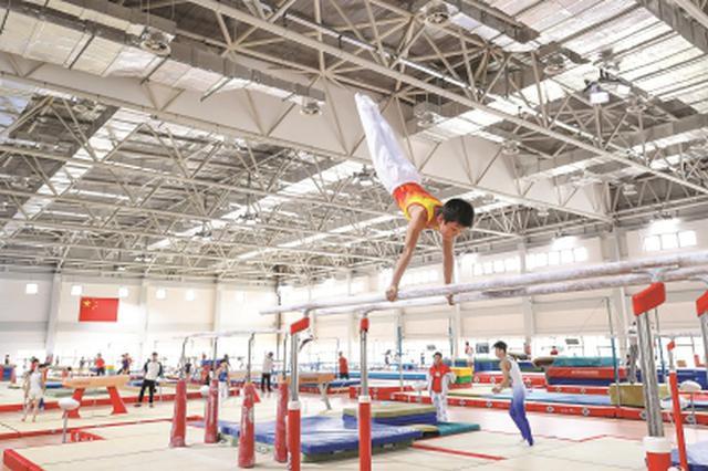 崇明体育训练基地正式启用 设14个运动项目场馆场地