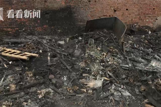 视频:男子随手扔烟头引发大火 被拘留10日