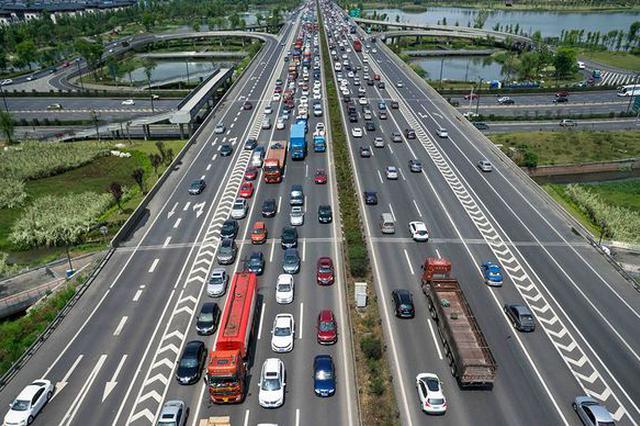 上海绕城高速编号调整全面展开 6月底将全部完成