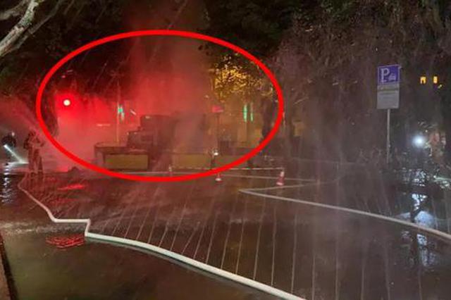 上海燃气泄漏4米气柱肉眼可见 30米内可闻燃气味