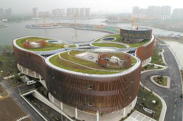 奉贤博物馆建成计划下月开馆 系奉贤标准最高地标景观