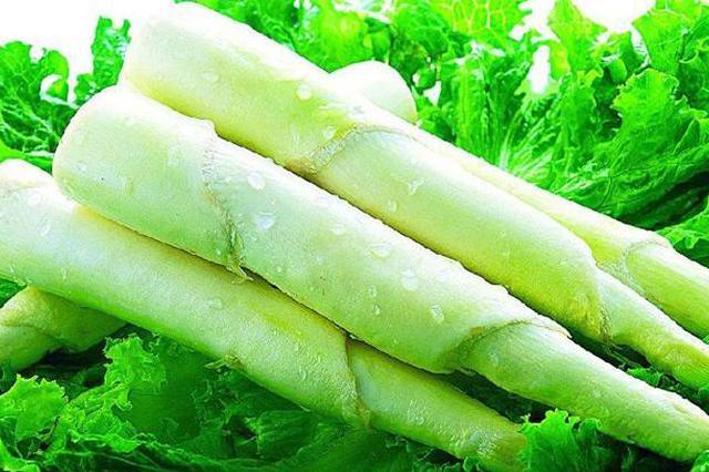 青浦练塘茭白上市 春茭从5月开端发卖至6月底
