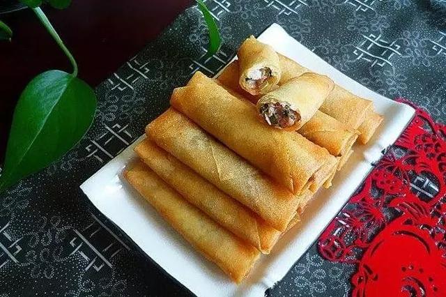 上海小吃春卷 无法抵挡的美味