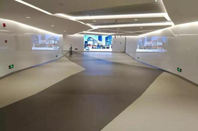中山公园商圈新建地下通道下周开放 新增电梯方便换乘