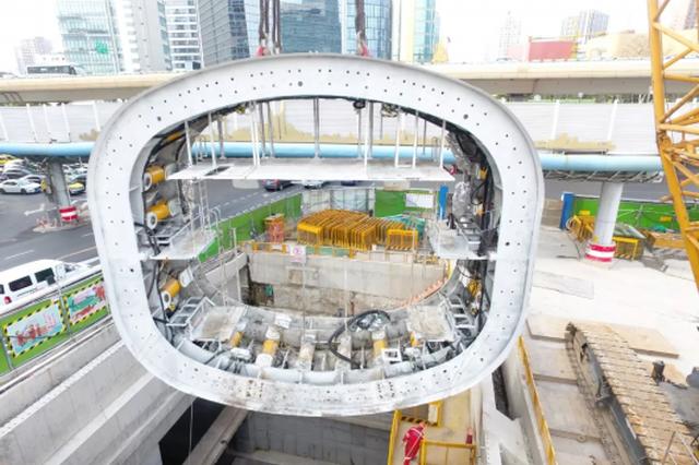 轨交14号线静安寺站最新进展:将开启静音模式施工