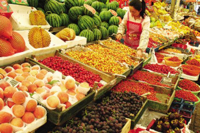 时令水果售价均高于往年 8月以后价格会有回落