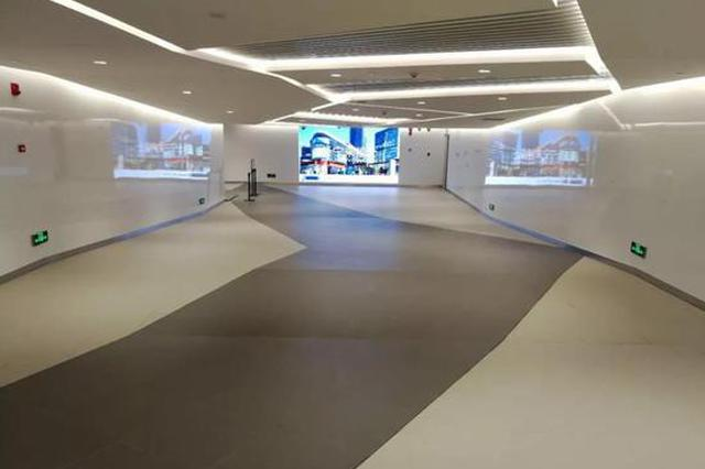 轨交中山公园站地下通道直达来福士商场 已正式启用