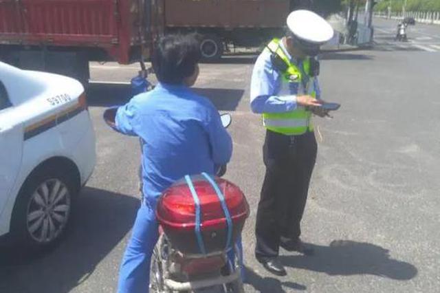 沪公安集中整治非灵活车、行人交通违法 一批案例颁布